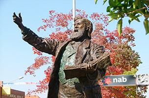 Sir Henry Parkes Statue